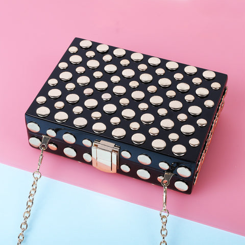 Stud clutch box - MY FLASH TRASH