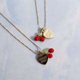 Cherry Baby Necklace & Anklet Set