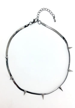 Gunmetal Necklace - MY FLASH TRASH