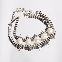 Pearl chain bracelet - MY FLASH TRASH