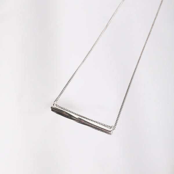 Metal Bar Necklace - MY FLASH TRASH