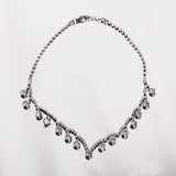 Vintage Diamante Drop Necklace - MY FLASH TRASH