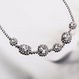 Vintage Diamante Necklace - MY FLASH TRASH