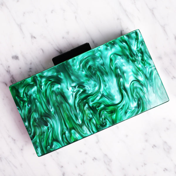 Marble Clutch Box - MY FLASH TRASH