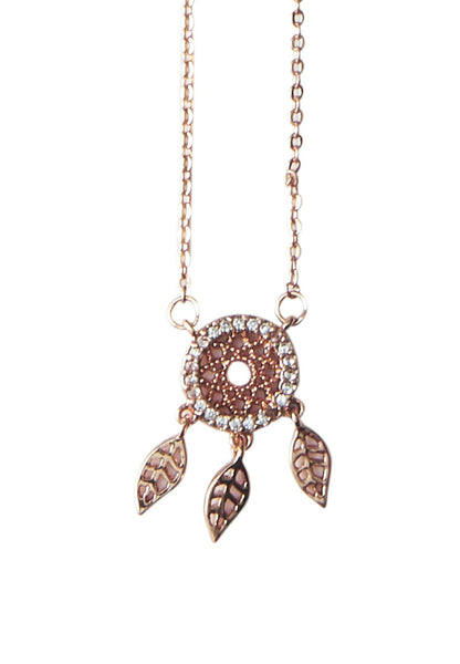 Dream Catcher CZ Necklace - MY FLASH TRASH
