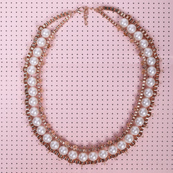 Statement Pearl Necklace - MY FLASH TRASH