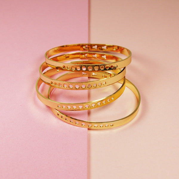 gold charm bangle mi vida loca