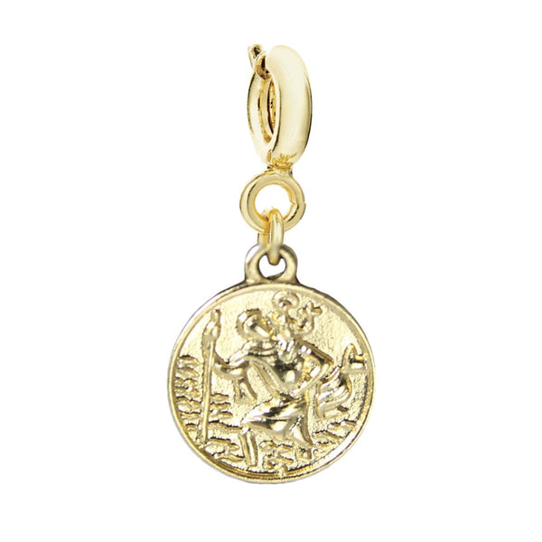 st christopher charm - MY FLASH TRASH