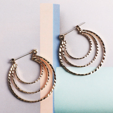 Cascading Rope Hoops