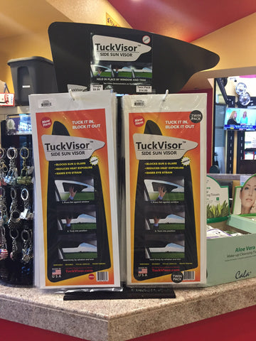 TuckVisor Retail Display Stand