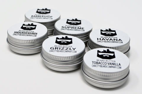 Custom Sample Pack (Beard Butter) (6) by Oak City Beard Company
