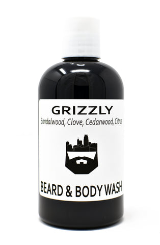 Grizzly (Beard Wash) by Oak City Beard Company