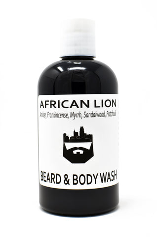 African Lion (Beard Wash) by Oak City Beard Company
