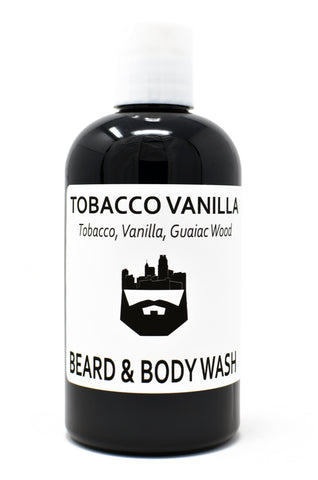 Tobacco Vanilla (Beard Wash) by Oak City Beard Company
