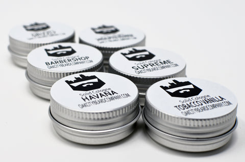 Custom Sample Pack (Solid Cologne) (10) by Oak City Beard Company