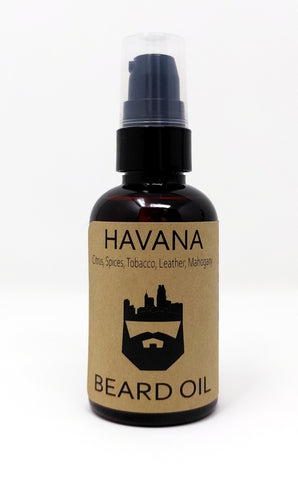 Havana (Beard Oil) by Oak City Beard Company