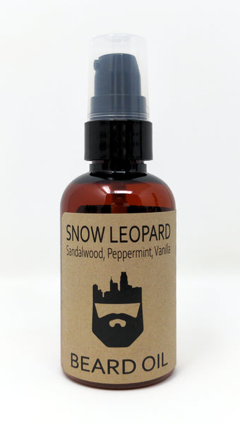 Snow Leopard (Beard Oil) by Oak City Beard Company