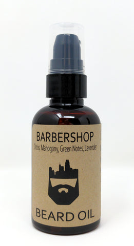 BarberShop (Beard Oil) by Oak City Beard Company