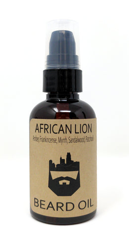 African Lion (Beard Oil) by Oak City Beard Company