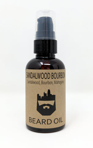 Sandalwood Bourbon (Beard Oil) by Oak City Beard Company