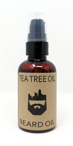 Tea Tree (Beard Oil) by Oak City Beard Company