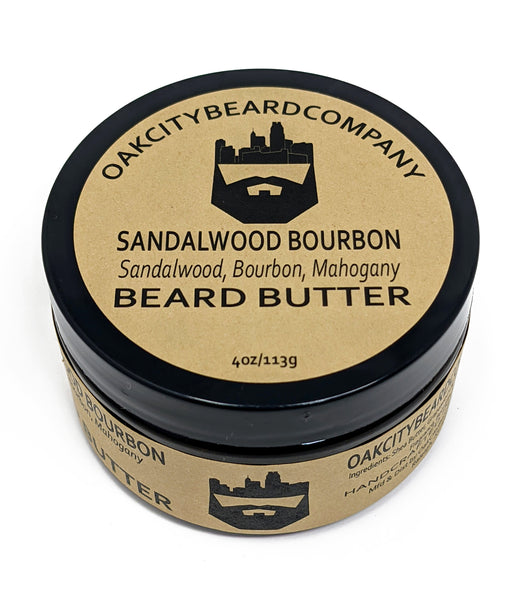 Sandalwood Bourbon (Beard Butter) by Oak City Beard Company