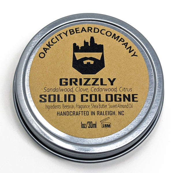 Grizzly (Solid Cologne) by Oak City Beard Company