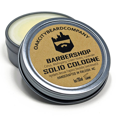 BarberShop (Solid Cologne) by Oak City Beard Company