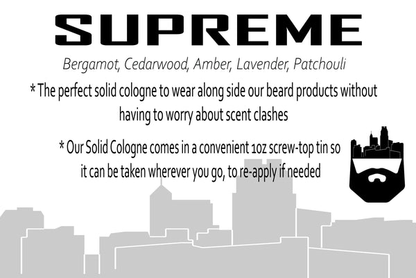 Supreme (Solid Cologne) by Oak City Beard Company