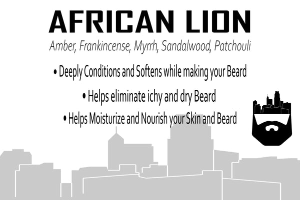 African Lion (Beard Balm) by Oak City Beard Company