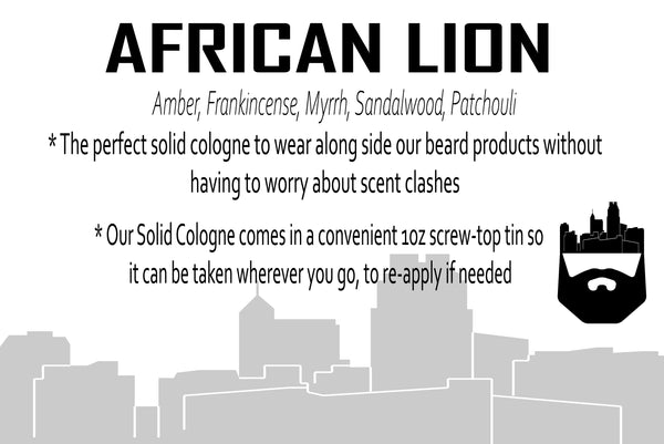 African Lion (Solid Cologne) by Oak City Beard Company