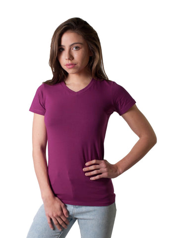 WOMEN'S HI LO CIGARETTE MUSCLE T-SHIRT
