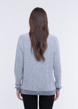WOMEN'S  TUNIC FAUX CASHMERE FEEL PULLOVER SWEATER