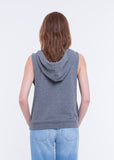 WOMEN'S SUPER SOFT HOODED TANK