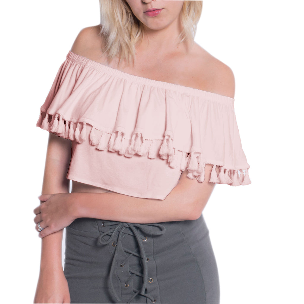 Tassel Crop Top