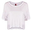 WOMEN'S FLOWY CROP TOP T-SHIRT