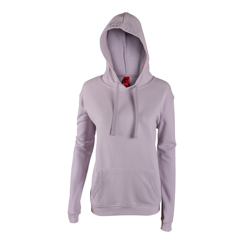WOMEN'S PULLOVER HOODIE WITH FRONT POCKET