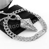Hip Hop Quavo Diamond Shaped Crucifix Miami Cuban Choker Chain Necklace L52 - Raonhazae
