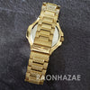 Raonhazae Hip Hop Iced Lab Diamond 14K Drake Drizzy Blue Face Gold Plated Black Face Watch with Stone - Raonhazae