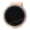New Rose Gold Digital Smart Watch Mash Band - Raonhazae