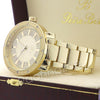 Men 14K Gold PT Big Face Watch F64G - Raonhazae