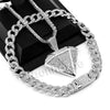 Hip Hop Quavo DIAMOND Miami Cuban Choker Tennis Chain Necklace L02 - Raonhazae