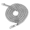 316L Stainless Steel Little Yachty Ice Out Pendant w/ 4mm Miami Cuban Chain - Raonhazae
