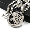 Raonhazae 316L Stainless Steel 3D Black Panther Pendant W/4mm Miami Cuban Chain - Raonhazae