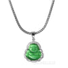 Iced Buddha Pendant w/5mm Franco Chain / GORILLA Pendent w 4mm Rope Chain Set - Raonhazae