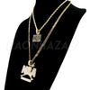 NBA NEVER BROKE AGAIN/ BLACK LIVES Pendant W/ Cuban & Rope Chain Set - Raonhazae