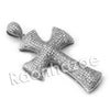 Lab diamond Micro Pave Anarchy Jesus Piece Pendant w/ Miami Cuban Chain BR016 - Raonhazae