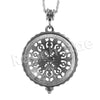 Antique Vintage Design 5X Magnifying Glass Locket Pendant Necklace - Raonhazae