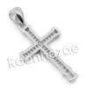 Lab diamond Micro Pave Jesus Praying Hands Pendant w/ Miami Cuban Chain BR125 - Raonhazae