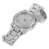 HIP HOP RAONHAZAE LIL G GOLD FINISHED LAB DIAMOND WATCH & RING SET. - Raonhazae